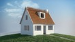 Home construction (cg animation, full hd)