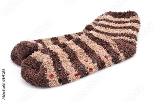 Photo non-skid socks