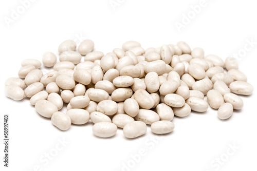 Fotografía  White Kidney Shaped Beans