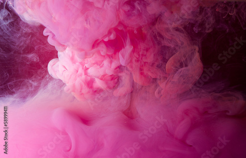 Cadres-photo bureau Roses pink smoke