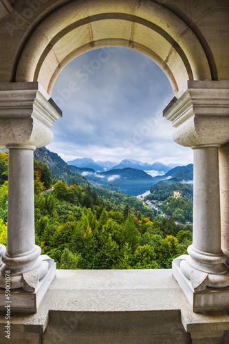 Bavarian Alps View Tapéta, Fotótapéta