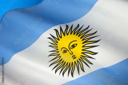 Papiers peints Amérique du Sud Flag of Argentina