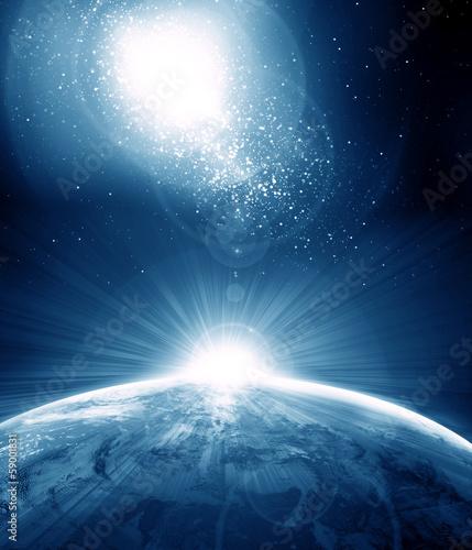 Naklejki kosmos planeta