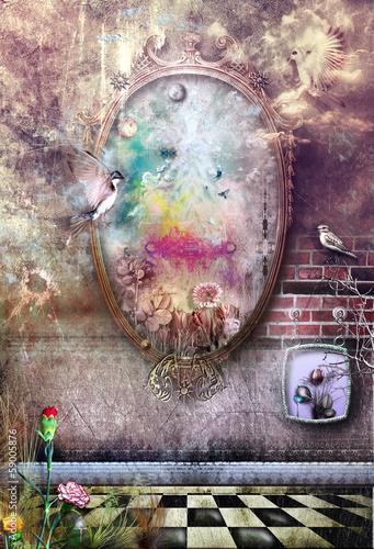 Fototapeta The magic mirror
