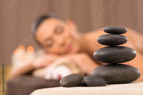 Pile Of Hot Stones - 59010694