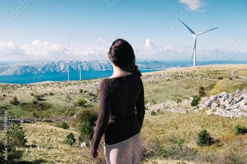 Fotografie, Obraz  Wind energy