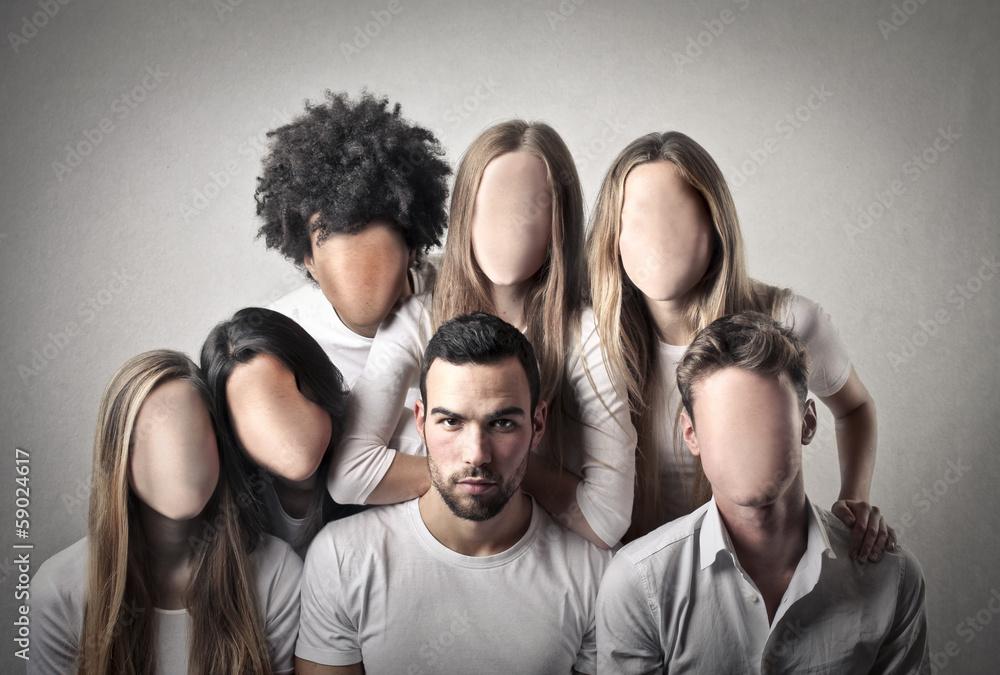 Fototapeta No Face