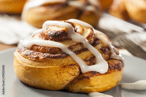 Photo  Homemade Cinnamon Roll Pastry