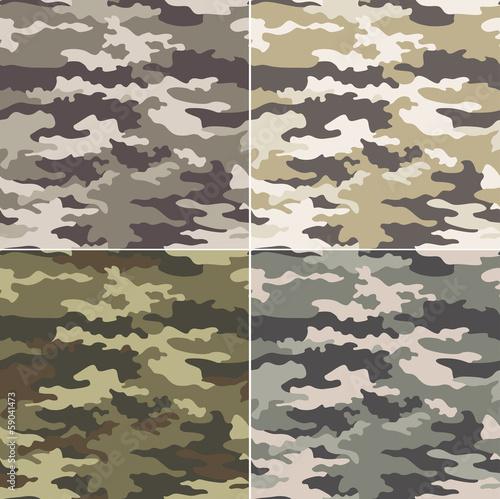 Fotografía  seamless camouflage pattern