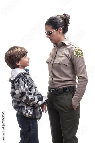 Valokuva  Kid in trouble