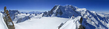 Mont Blanc And Vallee Blanche ...