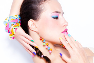 Fototapetarainbow colors