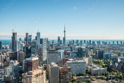 Stampa su Tela  Scenic view of downtown Toronto