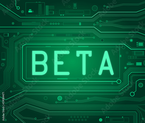 Photo Beta concept.
