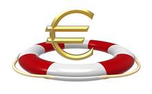 Lifebuoy With Euro Sign