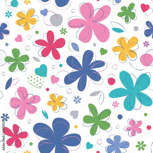 kolorowy-wzor-serca-i-kwiaty-na-bialym-tle
