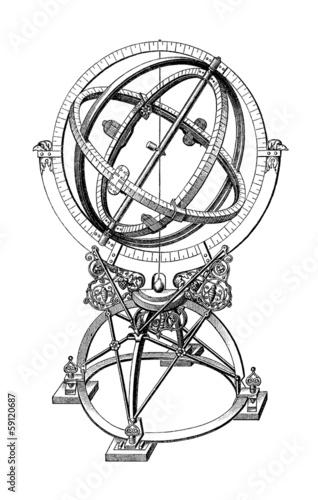 Photo Armillary Sphere - 16th century