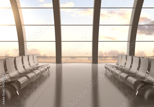 Foto op Aluminium Luchthaven airport