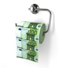 Euro Devaluation. Money As Toi...