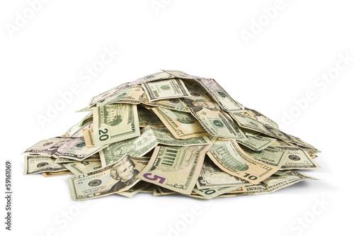 Fotomural stack of cash