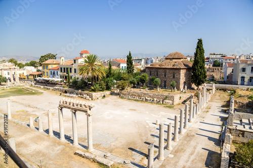 Athens. Roman Agora Wallpaper Mural