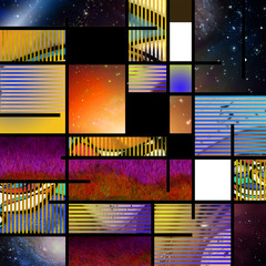 Fototapeta Abstrakcja Modern Art Abstract
