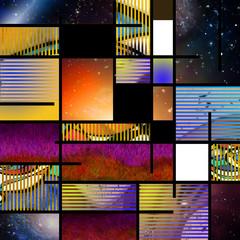 Obraz na PlexiModern Art Abstract