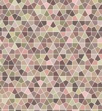 Seamless Soft Hexagonal Pattern