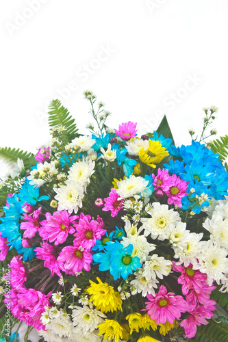 Fototapety, obrazy: beautiful bouquet of bright flowers