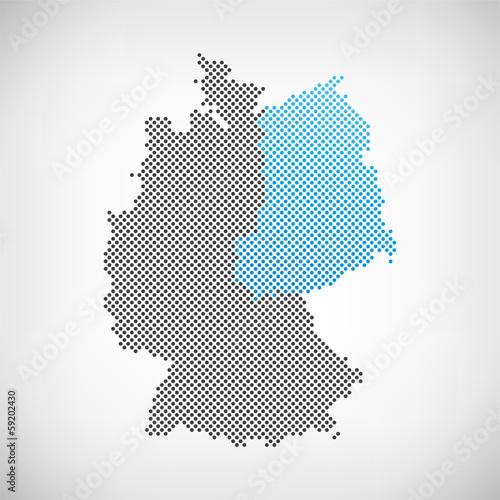 Karte Ostdeutschland.Karte Ostdeutschland Kaufen Sie Diese Vektorgrafik Und Finden Sie