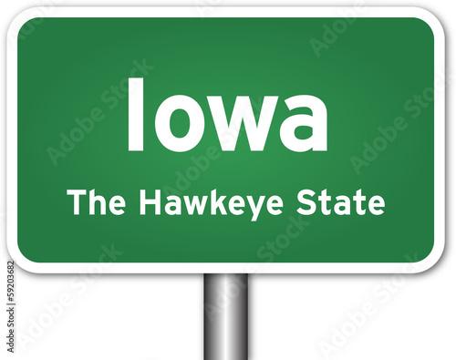 Photo  Iowa Sign