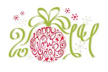 Decoration - Happy New Year 2014