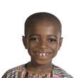 canvas print picture - Afrikanischer Junge Portrait