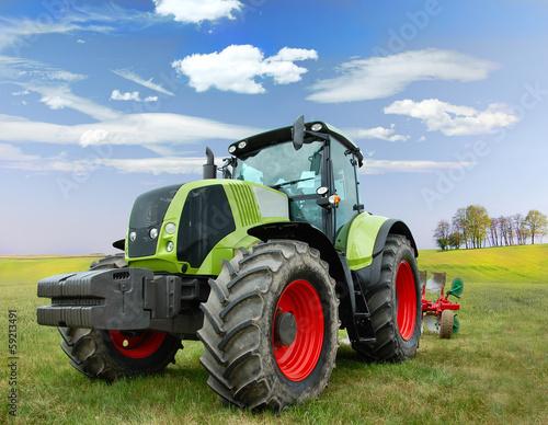 Photo  traktor