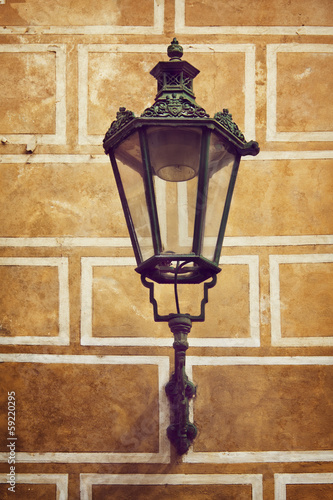 Photo  Ancient lantern