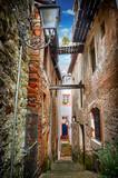 Fototapeta Uliczki - Old narrow street