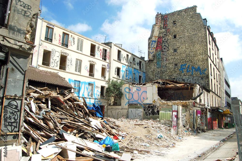 Fototapeta Ruina