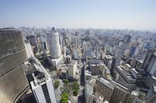 Sao Paulo Brazil Skyline Archi...