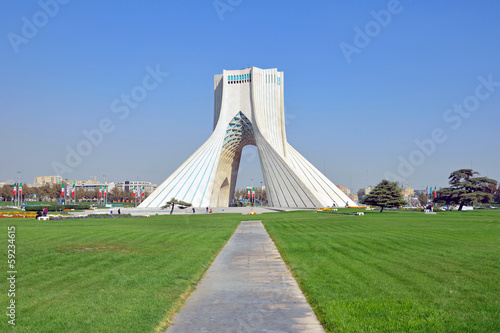 Azadi tower in Tehran,Iran