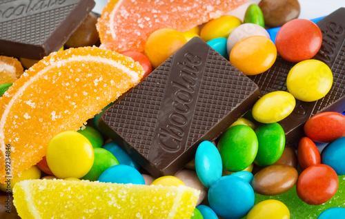 Keuken foto achterwand Snoepjes Colorful sweets