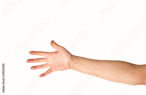 Fotografia, Obraz Arm and hand