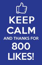 800 Likes