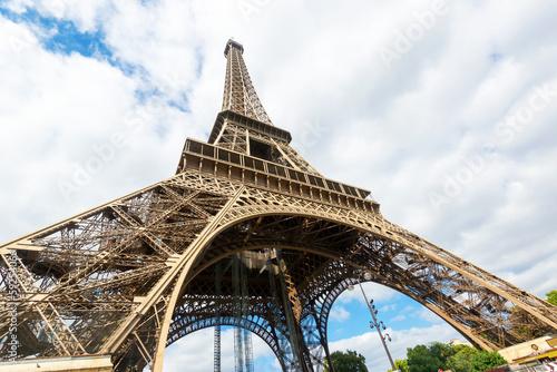Fototapeta The Eiffel tower obraz na płótnie