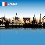 Fototapeta Wieża Eiffla - France, Paris