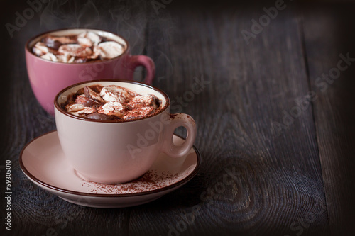 Foto op Plexiglas Chocolade Hot chocolate.