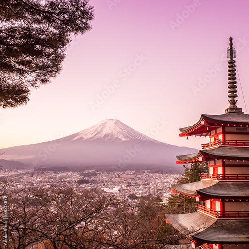 Foto op Canvas Japan Mount Fuji