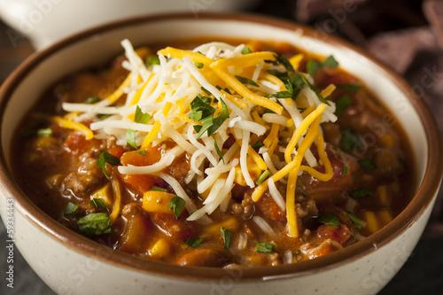 Fotografie, Obraz  Soutwestern Santa Fe Soup