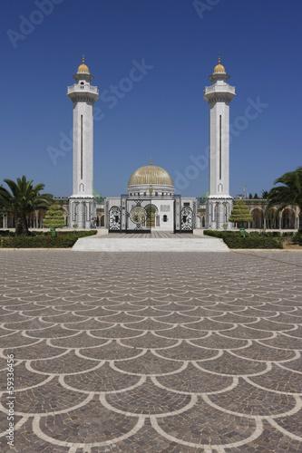 Deurstickers Tunesië Habib Bourguiba Mausoleum