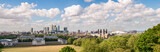 Panorama na wschodni Londyn