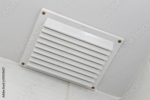 Fototapeta grille d'aération plafond